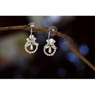 Round Flower  Fashionable Long Tassels Fresh Elegant Earrings