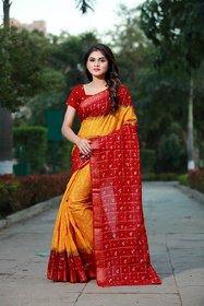 Sharda Creation Multicolour Mysore  Silk Saree For Women