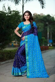SVB Saree Multicolour Mysore  Silk Saree For Women