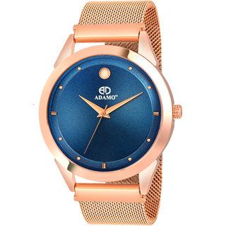 ADAMO Designer Blue Dial Men's  Boy's Watch 849KKM05