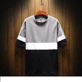 Pause Multicolor Round Neck T-Shirt For Men