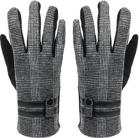 Bonjour Gloves For Men- D.Grey