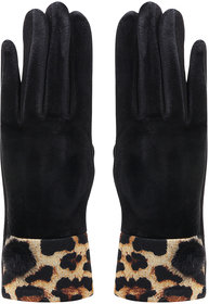 Bonjour Gloves For Women- Black