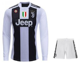 Juventus Home Kit Jersey Full Sleeves With Shorts