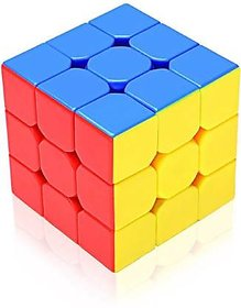 Proshop Rubiks Cube , Plastic Rubiks Cube Puzzle Cube 3X3 Stickerless Speed Smooth Magic Cube