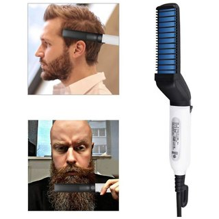 Doodle Men's Beard And Hair Straightener Modelling Comb For Men