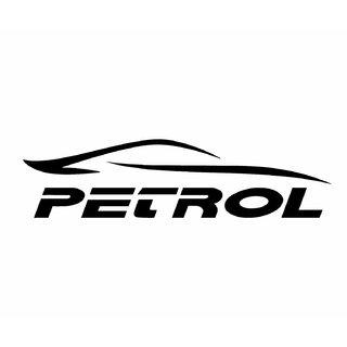AutoaccessoriesDeal2018 Cut Car Petrol Sticker Car Styling Decorative Decal! Size  11.5X3.5.Cm 1 Piecs. (Black)