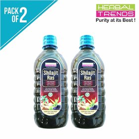 Herbal Trends Energy Booster Juice -500Ml - Power Of 8 Herbs- A Natural Mineral Superfood- Destroyer Of Weakness-Pack 2