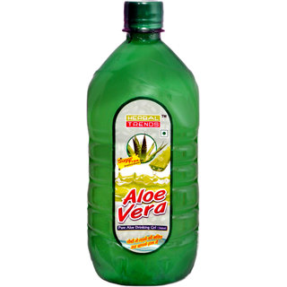 Herbal Trends Pure Aloe Vera Drinking Gel( Juice)1000Ml - 30 Days Fresh Guaranteed- Direct From Manufacturer