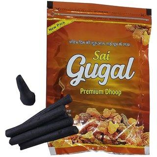 Uniqon Zipper (Pack Of 1) Gugal Scented Premium Incense Sticks Dhoop Batti
