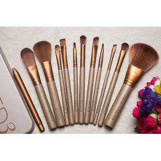 Trendy Trotters Professional Make Up Brush Set Foundation Blusher Face Powder Style 12 Pcs