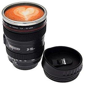 Camera Lens Coffee Tea Cup Mug Flask