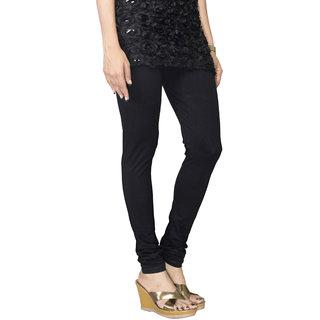Morvee Churidar Leggings (Black)