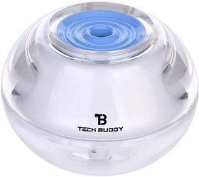 Tech Buddy New Crystal Air Humidifier With Led Night Light