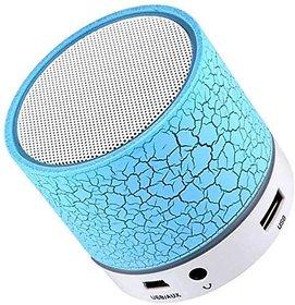 Calicovilla Mini Portable Wireless Speaker S10 Portable Travel Speaker Handfree Mic (Multicolor)