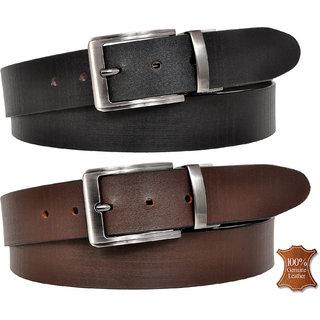 Reversible Genuine Leather Formal Belt For Men By Eysom