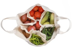 Grocery Bag Washable Multi-Compartment