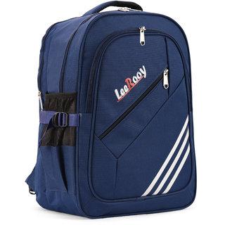 Leerooy Canavas 22-32Litr Blue School Bag Stylish Bag College Bag For Boys And Girls
