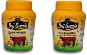 Brij Gwala Pure Desi Cow Ghee 200Ml Jar Pack Of 2