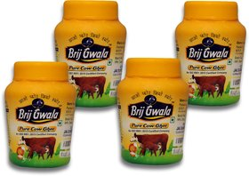 Brij Gwala Pure Desi Cow Ghee 200Ml Jar Pack Of 4