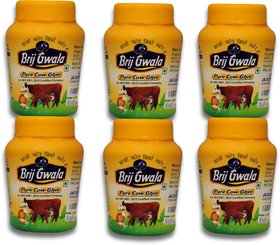 Brij Gwala Pure Desi Cow Ghee 200Ml Pack Of 6