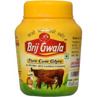 Brij Gwala Pure Cow Desi Ghee 500Ml Jar