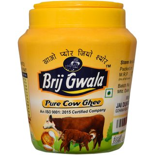 Brij Gwala Pure Cow Desi Ghee 2Ltr Jar