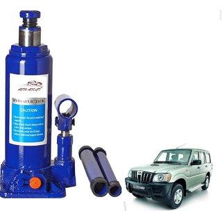 Auto Addict 5 Ton Hydraulic Bottle Vehicle Jack (5000 Kgs) For Mahindra Old Scorpio