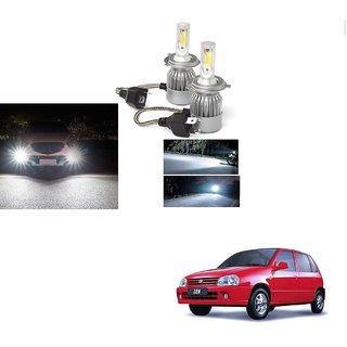 Auto Addict C6 H4 Car Headlight Bulb 50W Led Conversion Kit (White) For Maruti Suzuki Zen