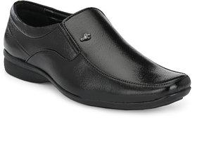 Mercy Black Formal Moccasin Shoes For Men(1630)
