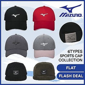 Mizuno Logo Sports Cap 6 Collection