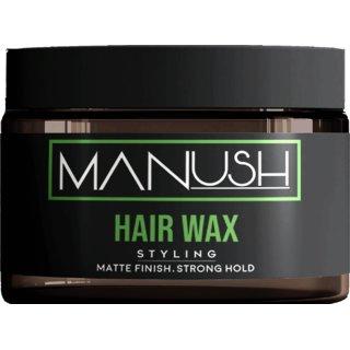 Manush Natural Hair Wax - Strong Hold Matte Finish 50Gm