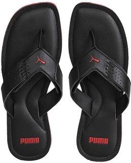 Puma Mens Black Flip Flop Slipper