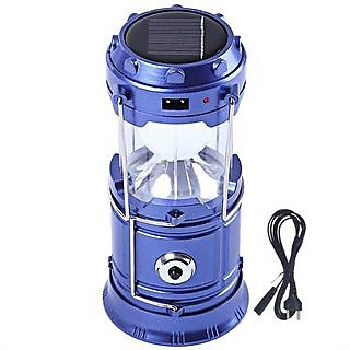 Rechargeable Solar Led Lentern Camping Torch Light/ Emergency Lamp (Assorted Colors)