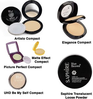 Blue Heaven Compacts (6 Different Types Of Compacts)