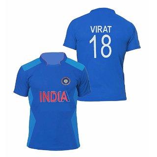 India Cricket Jersey Virat18