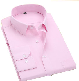 Formal Wear Pink Shirts For Mens