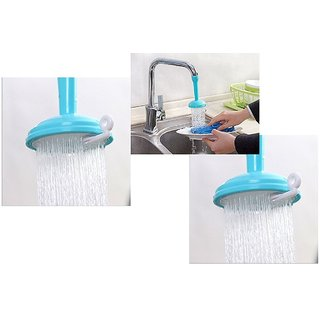 Aeoss Kitchen Faucet Water-Saving Faucet Of Sprayer Faucet Adjustable Shower Head (Turquoise) (3)