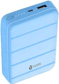 Yuvix 10000 Mah Lithium-Ion Power Bank (Ik-23,Blue)