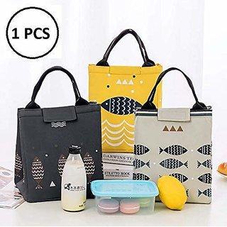 REGAL Premium Thermal Cover Tote Multi-Purpose Canvas Lunch Bag/Tiffin Bag/Storage Bag