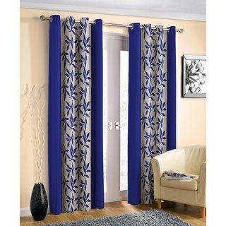 Homelogy Kolaveri Blue curtain(4x5)