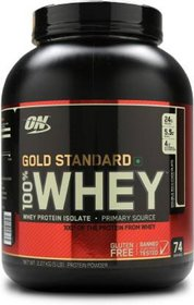 Optimum Nutrition Gold Standard 100 Whey Protein  (2.27 kg, Double Rich Chocolate)