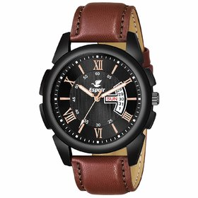 Espoir Analogue Black Dial Day and Date Boy's and Men's Watch - DWARKA0507