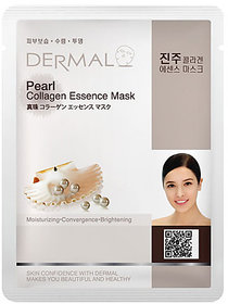 Dermal Pearl Collagen 1 Face Mask - Hydrate and Glow Skin