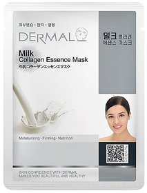 Dermal Milk Collagen-Face Mask : Lightening & Glowing Skin