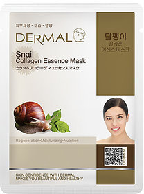 Dermal Snail Collagen Face Mask : Acne Treatment & Dead Cell Regeneration