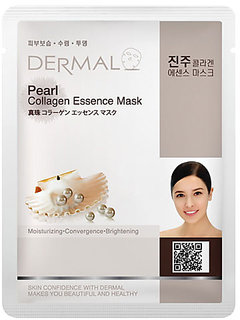 Dermal Pearl Collagen Face Mask - Hydrate and Glow Skin