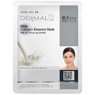 Dermal Milk Collagen-Face Mask : Lightening & Glowing Skin