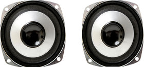 Barry John 3 Inch woofer Speaker 4 ohm 25 Watt HiFi Woofer Deep Bass for Home Theater (Pack of 2)