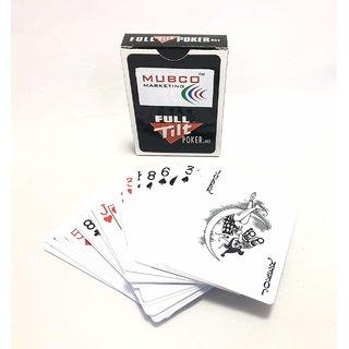 Mubco Full Tilt Poker Playing Cards  Black